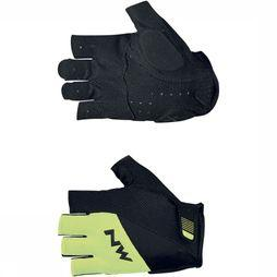 Northwave Glove Flash 2 Short black/yellow
