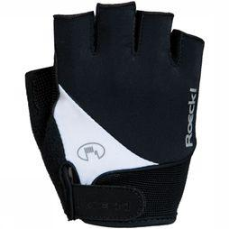 Roeckl Glove Napoli black/white