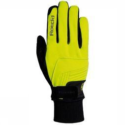 Roeckl Glove Rebelva mid yellow