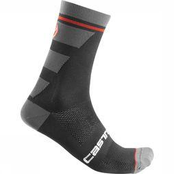 Castelli Sock Trofeo 15 black/dark grey