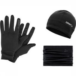 Craft Accesoires Gift Pack S/M Hat L Glove Zwart