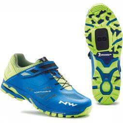 Northwave All Round Shoe Spider 2 mid blue/mid yellow