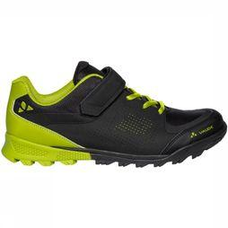 Vaude All Round Shoe Am Downieville Low black/light green