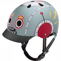 Nutcase Bicycle Helmet Little Nutty Gen3-M light grey/mid red