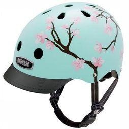 Nutcase Bicycle Helmet Gen3 light green/Assortment Flower