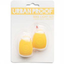 UrbanProof Fietsverlichting Silicon Light Set Middengeel