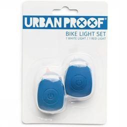 UrbanProof Bike Lighting Silicon Bike Light Set dark blue