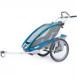 Thule Chariot Cx1 + Cycle mid blue