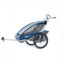 Thule Chariot Cx2 + Cycle mid blue