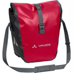 Vaude Bike Bag Front Aqua Front mid red/black