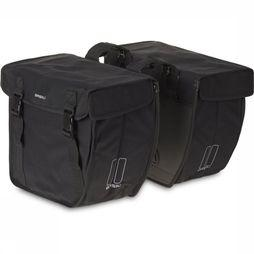 Basil Bike Bag Back Kavan Rounded Double Bag black