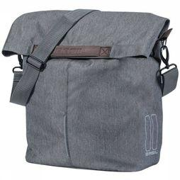 Basil Bike Bag Back City Shopper Dark Grey Mixture