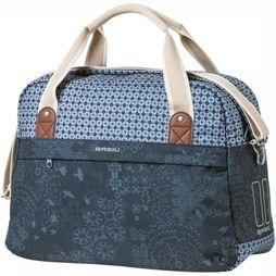 Basil Bike Bag Back Boheme Carry All 18L dark blue/mid blue