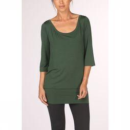 PlayPauze T-Shirt Sartre Tencel Green mid green