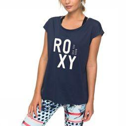 Roxy T-Shirt Parisian Walkway dark blue