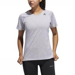 Adidas T-Shirt 3-Stripes light grey
