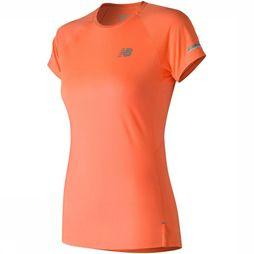 New Balance T-Shirt Ice 2.0 Short Sleeve orange