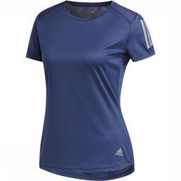 Adidas T-Shirt Own The Run Tee Blauw
