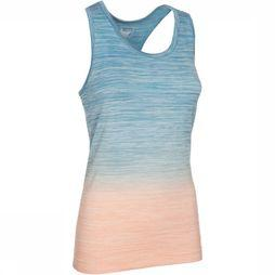 CMP Top 4-Way Stretch Faded Middenblauw/Oranje