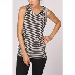 PlayPauze Top Freud Stripes Noir/Blanc