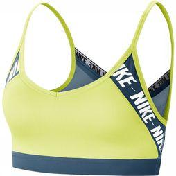 Nike Sports Bra Indy Logo Yellow/Petrol