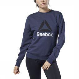 Reebok Trui Workout Ready Big Logo Marineblauw