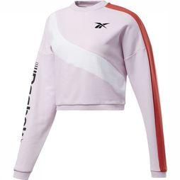 Reebok Pull Wor Myt Colorblocke Rose Clair
