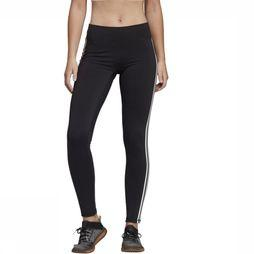 Adidas Legging Believe This Solid 3S Zwart/Wit