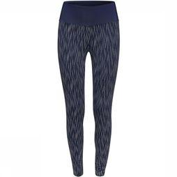 Esprit Tights Tight Edry Aop Refelective Marine