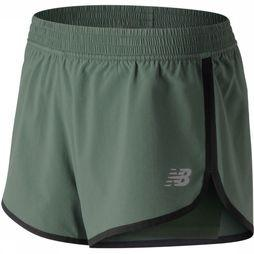 New Balance Short Accelerate 2 In 1 Train Middenkaki
