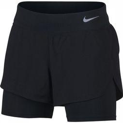 Nike Short Eclipse 2In1 Zwart