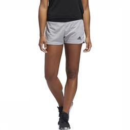 Adidas Short 2 In 1 Soft Touch Gris Clair/Noir