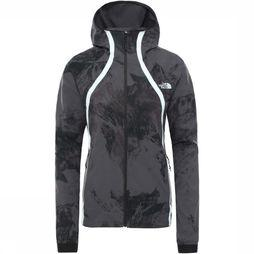The North Face Jas Varuna Wind Donkergrijs Mengeling
