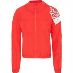 The North Face Windstopper Train N Logo Wind mid red