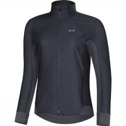 Gore Wear Windstopper R3 Women Partial black/dark grey