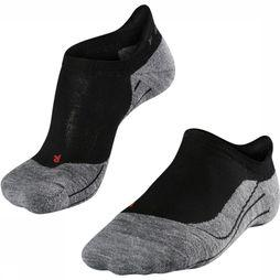 Falke Sock RU4 Invisible black/light grey