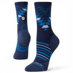 Stance Kous Slithering Crew Blauw
