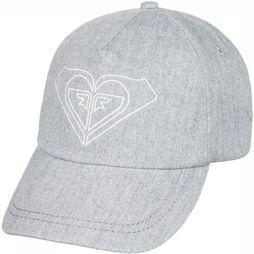 Roxy Casquette Extra Innings Gris Clair Mélange