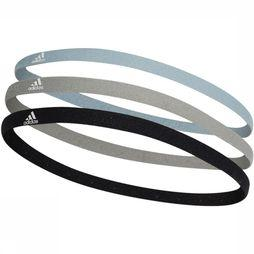 Adidas Hair Ribbon 3-Pack black