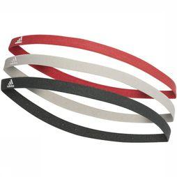 Adidas Haarband 3-Pack Middenroze