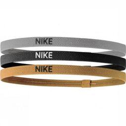 Nike Equipment Elastic Hairbands black/gold