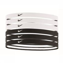 Nike Equipment Haarband Swoosh Sport Headbands 6PK 2.0 Zwart/Wit