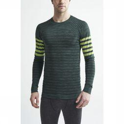 Craft T-Shirt Fuseknit Comfort Blocked dark green