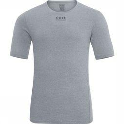Gore Running Wear T-Shirt Essential Middengrijs