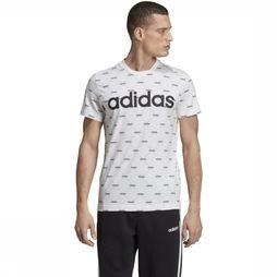 Adidas T-Shirt Linear Graphic Wit