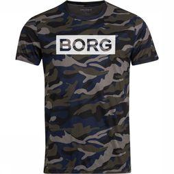 Bjorn Borg T-Shirt Atos Assortiment Camouflage