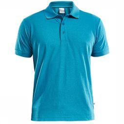 Craft Craft Polo Piqué light blue/exceptions
