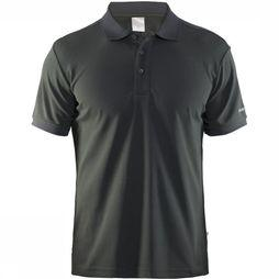 Craft Craft Polo Piqué mid grey