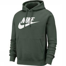 Nike Pullover NSW Club Graphic Hoodie green
