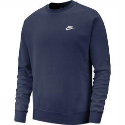 Nike Trui Nsw Club Crw BB Marineblauw